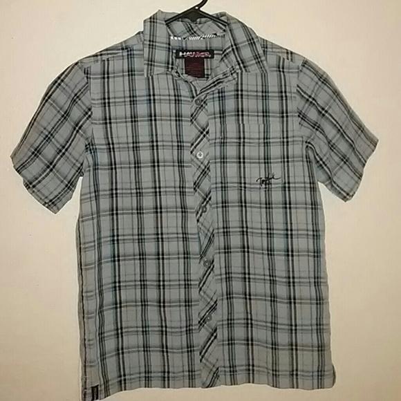 a55d1167 Tony Hawk Shirts & Tops   Boys Plaid Shirt   Poshmark